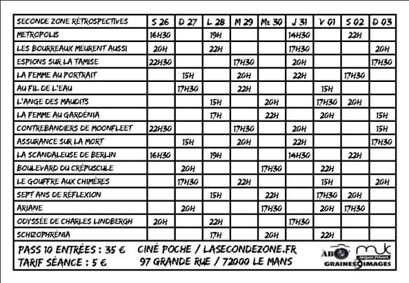 Page8 Horaire
